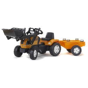 Falk Tracteur à pédales Renault avec pelle et remorque PM