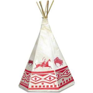 Petitcollin Tente d'Indien avec décor