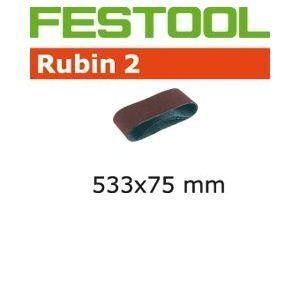 Festool 499160 - Boîte de 10 Bandes abrasives BS 75 533x75 grain 150