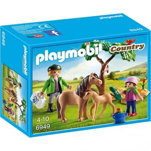 Playmobil 6949 - Poney avec poulain