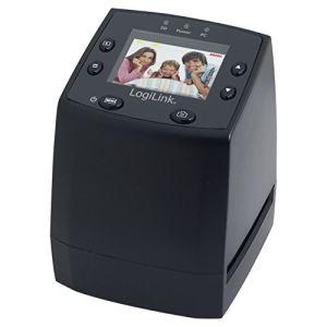 Logilink DS0001 - Scanner diapositives/négatifs avec slot SD