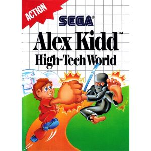 Alex Kidd : Hight-Tech World sur Master System