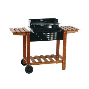 Hesperide Etretat - Barbecue charbon sur chariot