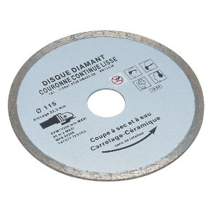 SCID 5131 - Disque diamanté lisse 180 mm