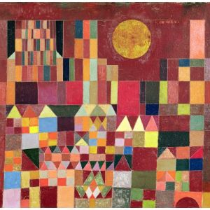 Grafika Paul Klee Château et soleil, 1928 - Puzzle 1500 pièces