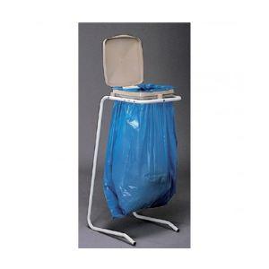 Mottez Support sac sur pieds à couvercle pour sac (30 / 120 L)