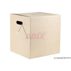 Abix 811339 - Câble reseau cat.6a FTP lsoh multibrin rouge 305 metres