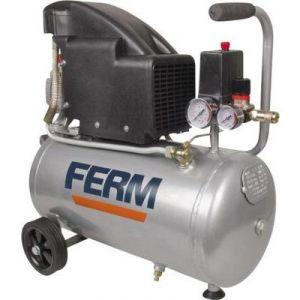Ferm CRM1045 - Compresseur 1,5HP 1100W 24L