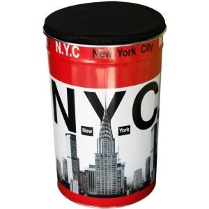 Pierre henry Pouf coffre de rangement New York Basket Thirty