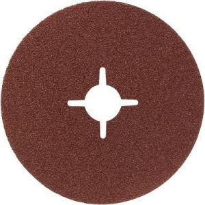 Bosch 2608605494 - Disque abrasif sur fibre pour meuleuse angulaire au corindon 230 mm, 22 mm, 100