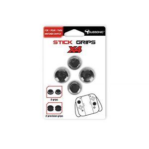 Subsonic Pack de 4 caps pour manette Nintendo Switch