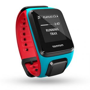 TomTom Runner 2 Music - Montre GPS (bracelet large)