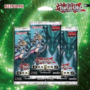 Asmodée Pack 5 cartes Yu-Gi-Oh! : Les dragons de légende 2