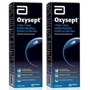 Amo Oxysept 1 etape duo, 2 x 300 ml + 60 comprimés