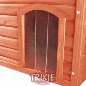 Trixie Porte en plastique pour niche Natura à toit plat 34x52 cm