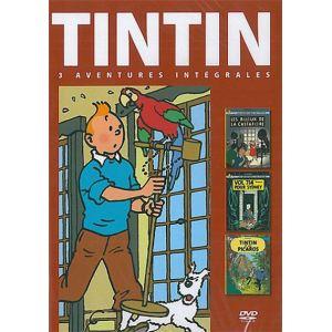 Coffret Tintin - Volume 7 : Les Bijoux de la Castafiore + Vol 714 pour Sydney + Tintin et les Picaros