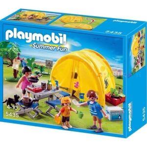 Playmobil 5435 Summer Fun - Famille et tente de camping