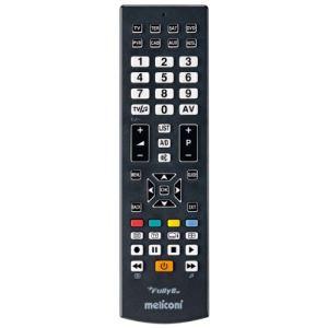 Meliconi Fully 8 RC - Télécommande universelle préprogrammée 8 en 1