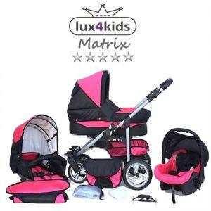 Chilly Kids Matrix 2 - Poussette combinée avec siège auto et parasol