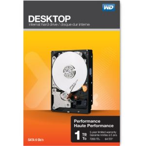 "Western Digital WDBSLA0010HNC - Disque dur Desktop Performance 1 To 3.5"" SATA lll"