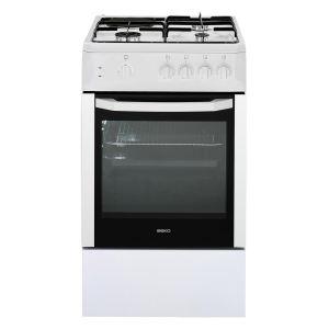 Beko css53000dw cuisini re mixte 3 foyers gaz avec four lectrique comparer avec - Avis consommateur marque beko ...