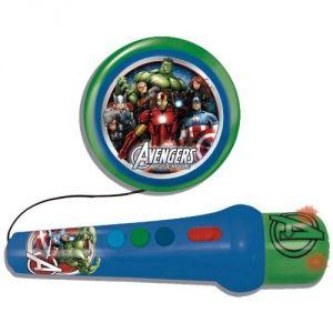 Reig Musicales Microphone avec ampli et rythmes Avengers