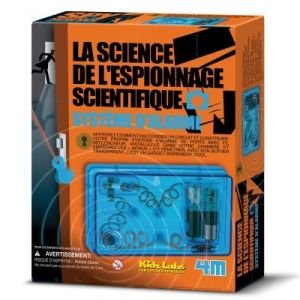 4M - Kidz Labs La science de l'espionnage scientifique : Système d'alarme