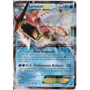 Asmodée Lèviator - Carte Pokemon 26/122 Ex rare