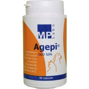 MP Labo Agepi Omega 3 et 6 - Complément alimentaire pour pelage chien et chat