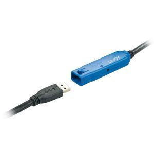 Lindy 43157 - Rallonge active Pro USB 3.0 10m