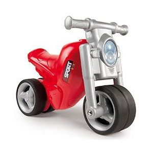 Smoby Porteur moto rouge