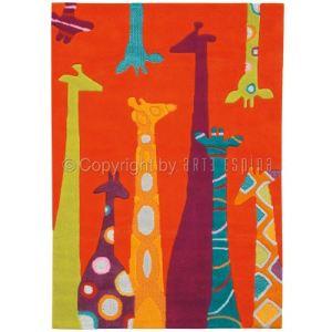 Arte Espina Tapis tufté Girafe Spirit (110 x 160 cm)
