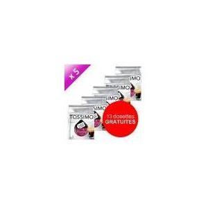 Tassimo 5 paquets de 16 dosettes T-Discs Carte noire Voluptuoso corsé