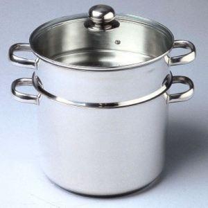 Baumalu Couscoussier en inox compatible tous feux dont induction (30 cm)