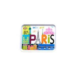 Fox Trot 3298PARI - Plateau Paris je t'aime en plastique MM (22 x 27 cm)