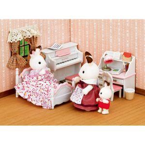 Epoch Sylvanian Families 2953 - Set chambre fillette