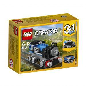 Lego 31054 - Creator 3 en 1 : Le train express bleu