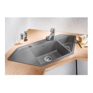 418 offres evier d angle comparatif de prix en ligne. Black Bedroom Furniture Sets. Home Design Ideas