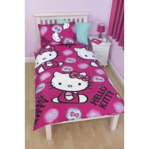 Housse de couette hello kitty comparer 21 offres for Housse de voiture hello kitty