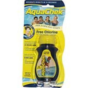AquaChek 50 bandelettes test pour chlore libre