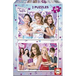 Educa Puzzle Violetta 2 x 100 pièces