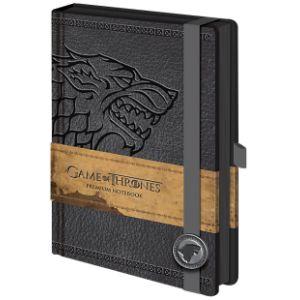 Pyramid International Carnet de notes Premium A5 logo Stark Game Of Thrones