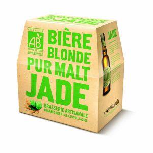 JADE Bière blonde bio 6x25cl