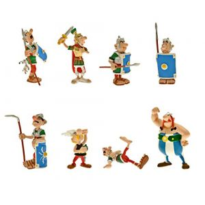 Plastoy Astérix bagarre 8 figurines