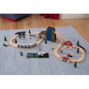 KidKraft 17989 - Circuit de train Euro Express