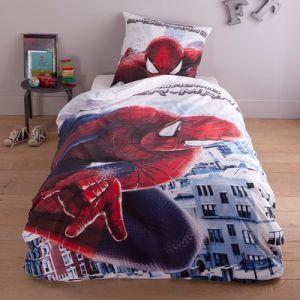 Parure de lit spiderman comparer 26 offres for Housse de couette spiderman
