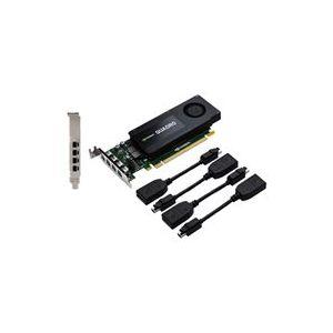 PNY RVCQK1200DP-PB - Carte Graphique Quadro K1200 4 Go GDDR5