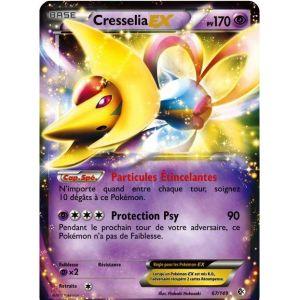 Asmodée Cresselia Ex - Carte Pokemon 67/149 frontières franchies