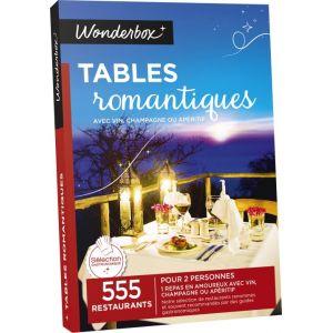 Wonderbox tables romantiques coffret cadeau pour 2 for Wonderbox cours de cuisine
