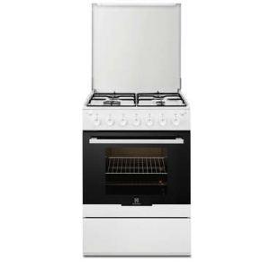 electrolux ekg611020w cuisini re tout gaz 4 br leurs. Black Bedroom Furniture Sets. Home Design Ideas